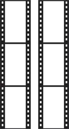 photography backdrop: 35mm film vector