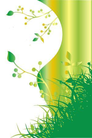 illustration of springtime