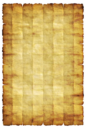 Old dirty vintage paper texture or background with traces of folds Stock Photo - 13322080