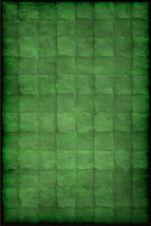 Old vintage green paper texture or background with traces of folds photo