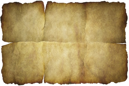 design bad: Old vintage paper texture or background with traces of folds Stock Photo