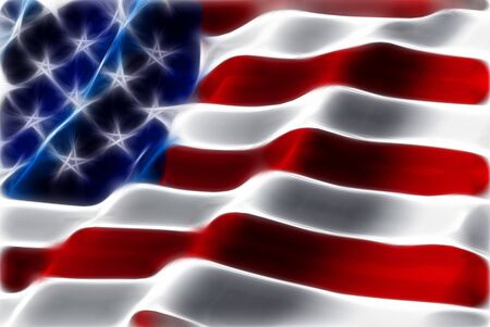 American flag abstract background photo