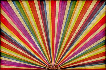 fondo de circo: Los rayos de sol de fondo multicolor rencor Foto de archivo