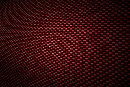 hilo rojo: Fondo rojo de fibra de carbono Foto de archivo