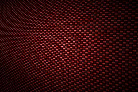 dark fiber: Red carbon fiber background