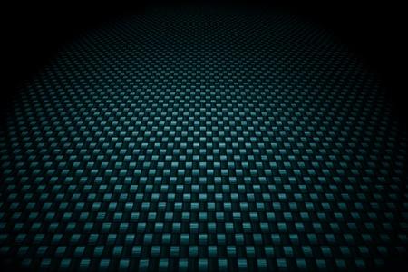 Blue carbon fiber background photo
