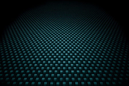 fibre: Blue carbon fiber background Stock Photo