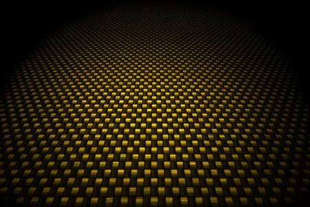 carbon fiber: De carbono de oro de fondo de fibra