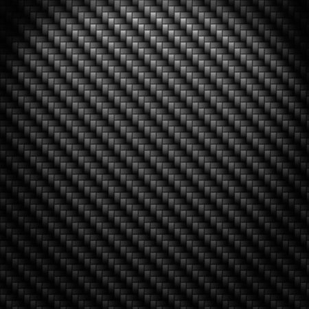 luxury cars: A realistic dark carbon fiber weave background or texture
