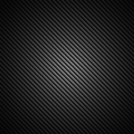 A realistic dark carbon fiber weave background or texture photo