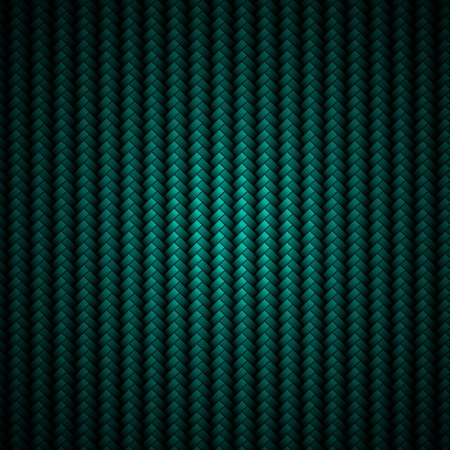 A realistic blue carbon fiber weave background or texture photo