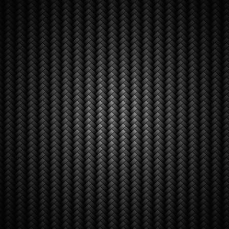 composite: A realistic dark carbon fiber weave background or texture