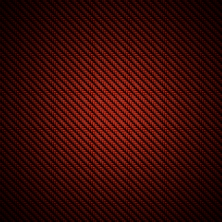 dark fiber: A realistic red carbon fiber weave background or texture