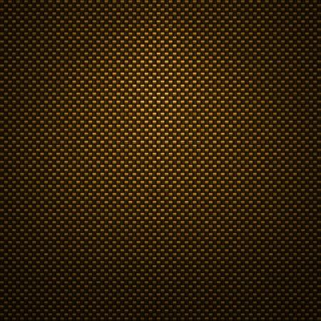 Golden carbon fiber background photo