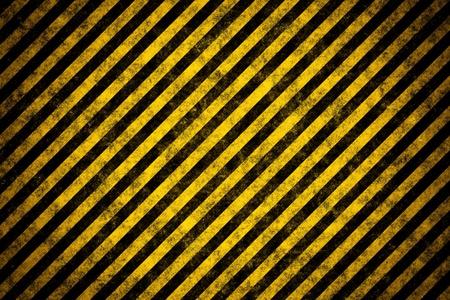 construction frame: Warning stripe template