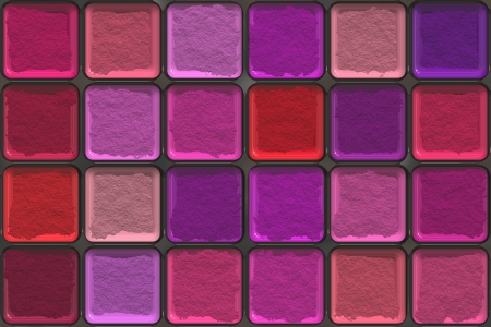 Colorful eyeshadow palette photo