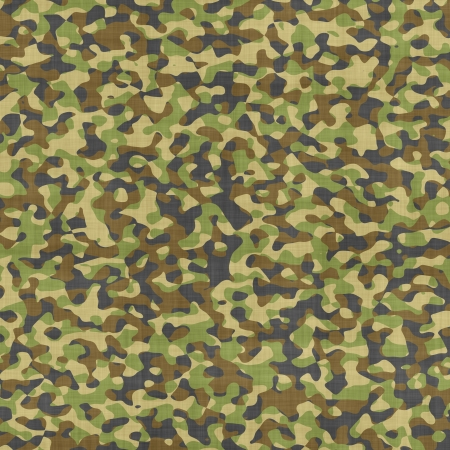 Military camouflage background or texture Stock Photo