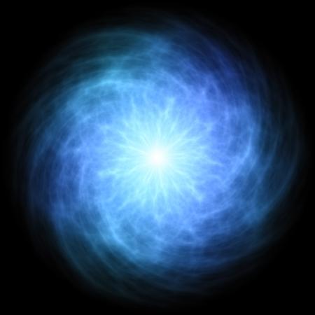 rayo electrico: Azul bola de energ�a
