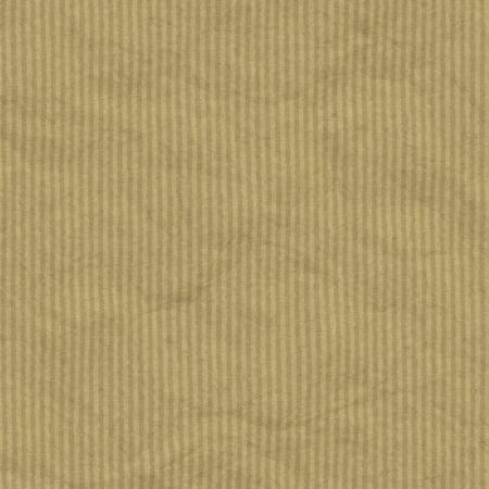 papel reciclado: Texturas obsoleta embalaje arrugado papel marr�n con rayas de fondo o textura