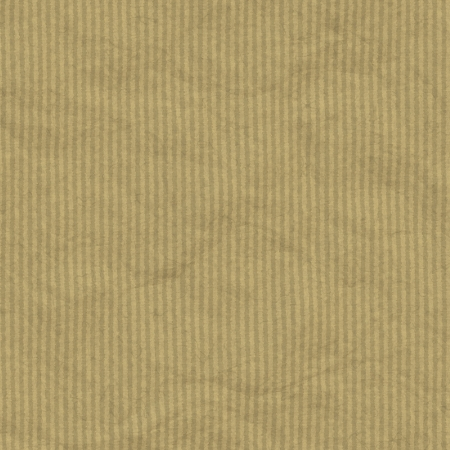 Textured obsolete crumpled packaging brown paper with stripes background or texture photo