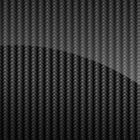 fibra de carbono: Negro de carbono brillante fondo o textura de fibra Foto de archivo