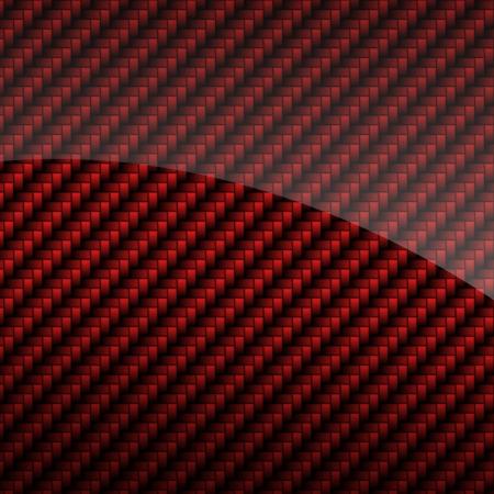 fibra de carbono: Red de fibra de carbono brillante fondo o textura