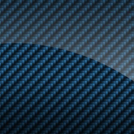 Fond bleu brillant en fibre de carbone ou de texture Banque d'images