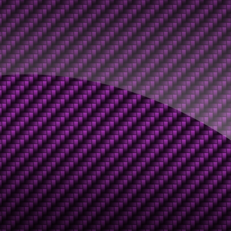 Violet glossy carbon fiber background or texture photo