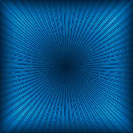radial background: Blue abstract light rays background or texture