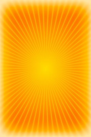 방사상: 오렌지 햇살 배경 또는 질감