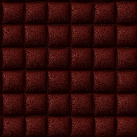 Red leather seamless background or texture photo
