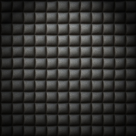 Black leather background or texture photo