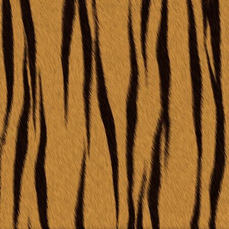 Tiger fur  skin  background or texture photo