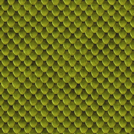Green lizard skin seamless background or texture photo