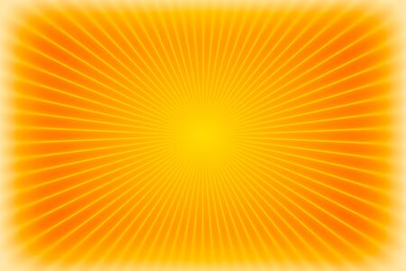 Orange sunburst background or texture photo