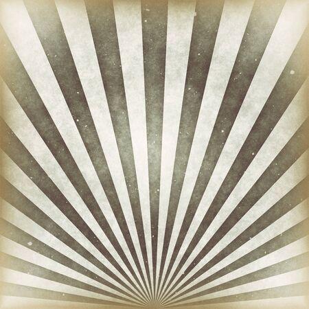 Sunbeams grunge background in vintage style.