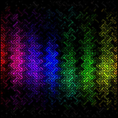 Abstract multicolor disco lights mosaic background photo