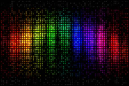 disco lights: Abstract multicolor disco lights mosaic background
