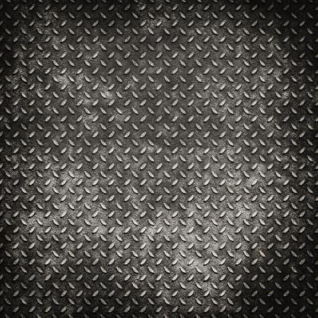 Grunge metal diamond plate background or texture Stock Photo - 17253469