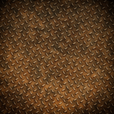 Grunge metal diamond plate background or texture Stock Photo - 17253467