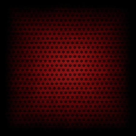 Red circle pattern texture or background photo