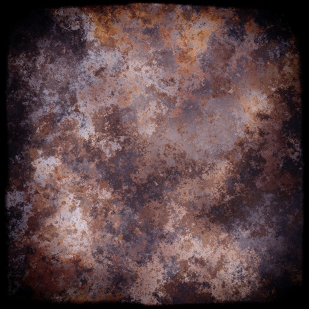 oxidate: Rusted Metal Background