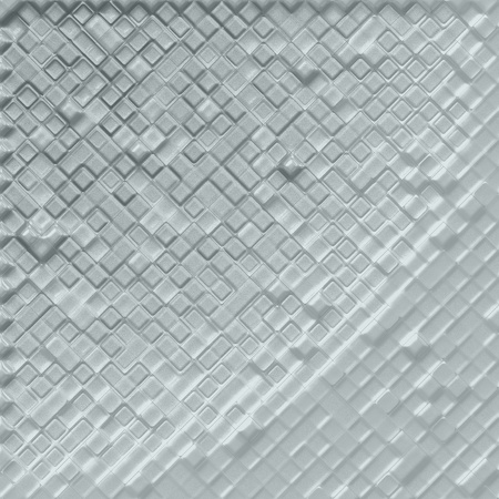Silver tiles background Stock Photo - 21692227