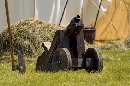 Old antique cannon photo