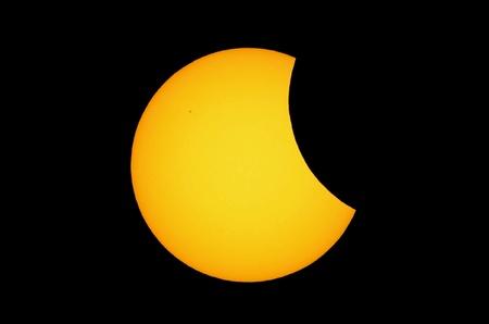 partial: Partial solar eclipse.