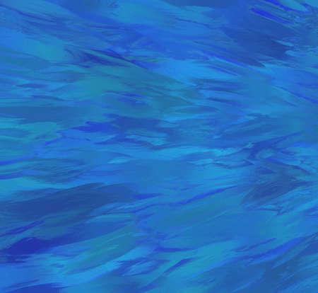 abstract blue wave background illustration