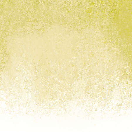 smeared: yellow gold and white background, old gold paint with smeared grunge texture and white border design