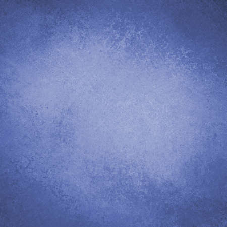 blue background design with distressed vintage texture and faint grunge border photo
