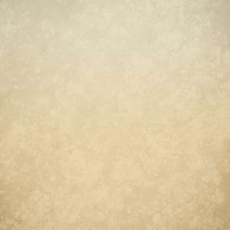 old light brown paper or parchment, off white vintage background design with worn distressed texture, beige background Stock Photo