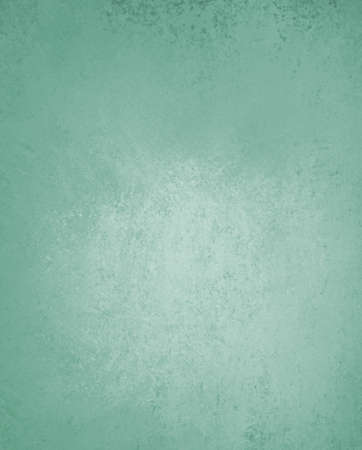 teal green background paper, vintage texture and distressed soft pale blue green color 版權商用圖片